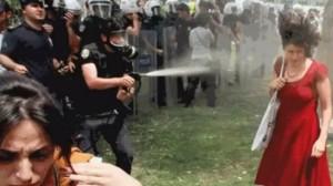 Turkey-red dress woman-Taksim_demonstration-police-violence2